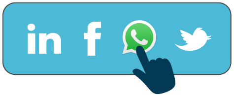 Footer con icona WhatsApp